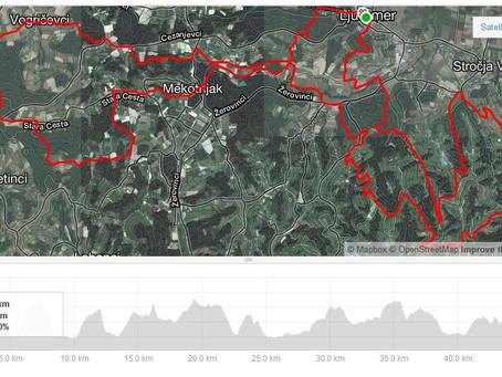 Del 2: Kako uživati v iskanju razgledov z gorskimi kolesi po Prlekiji