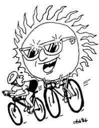 Kako pa naj kolesarim, če je pa tako zelo vroče?