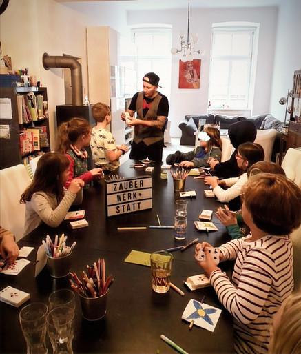 Mr. Happy Zauberworkshop für Kinder