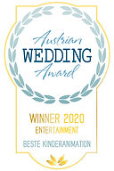Wedding Award Gewinner 2020 Beste Kinder