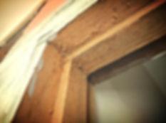 Termite Attack Door Frame