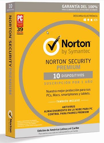 Norton Security Premium (Código Digital)