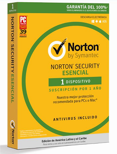 Norton Security Esencial (Código Digital)