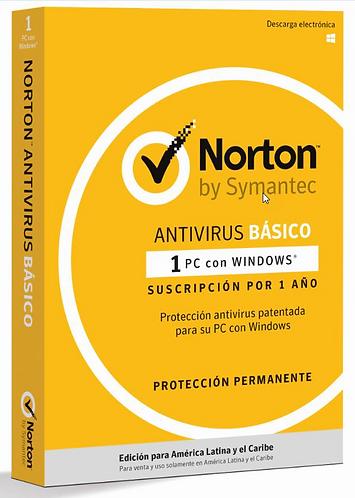 Norton Antivirus Básico (Código Digital)