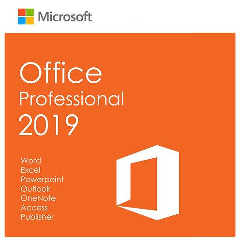 Office Profesional 2019 (Código Digital)