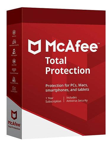 McAfee Total Protection (Código Digital)
