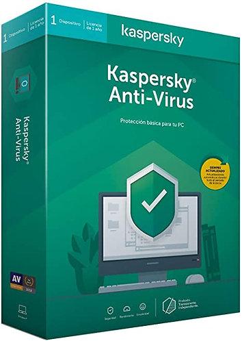 Kaspersky Antivirus (Codigo Digital)