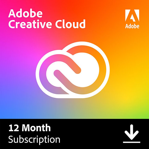 Adobe Creative Cloud (Código Digital)