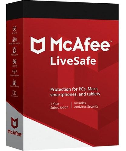 McAfee Livesafe  (Código Digital)