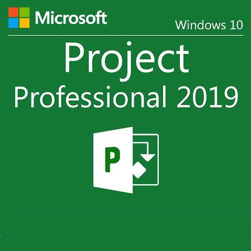 Microsoft Project Professional (Código Digital)