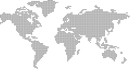 Simple world maps vector material 01.png