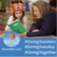 #GivingTeachers #Giving Tuesday #GivingT