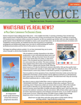 """New Issue of """"The Voice"""" is Here!"""