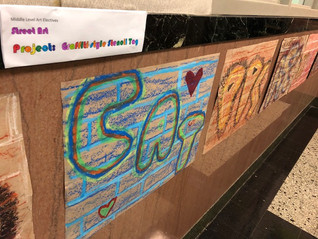 "Street Art Class Explores ""Tagging"""