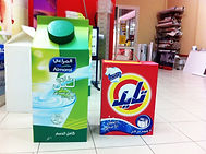 Packaging, Tide and Almarai