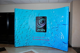 Zain backdrop