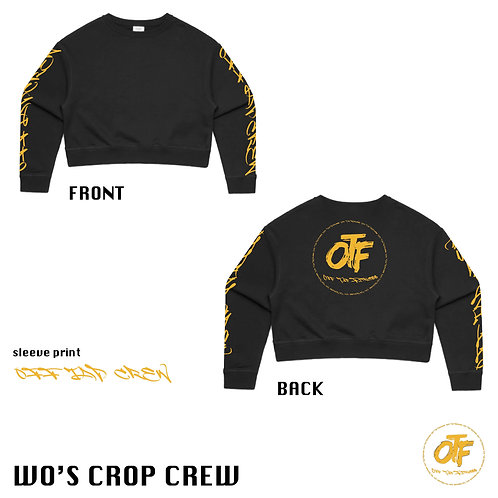 Crop Crew Jumper