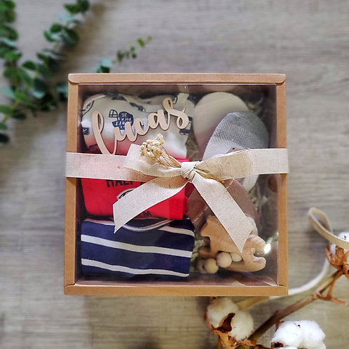 Good things come in threes Gift Set - Baby Boy