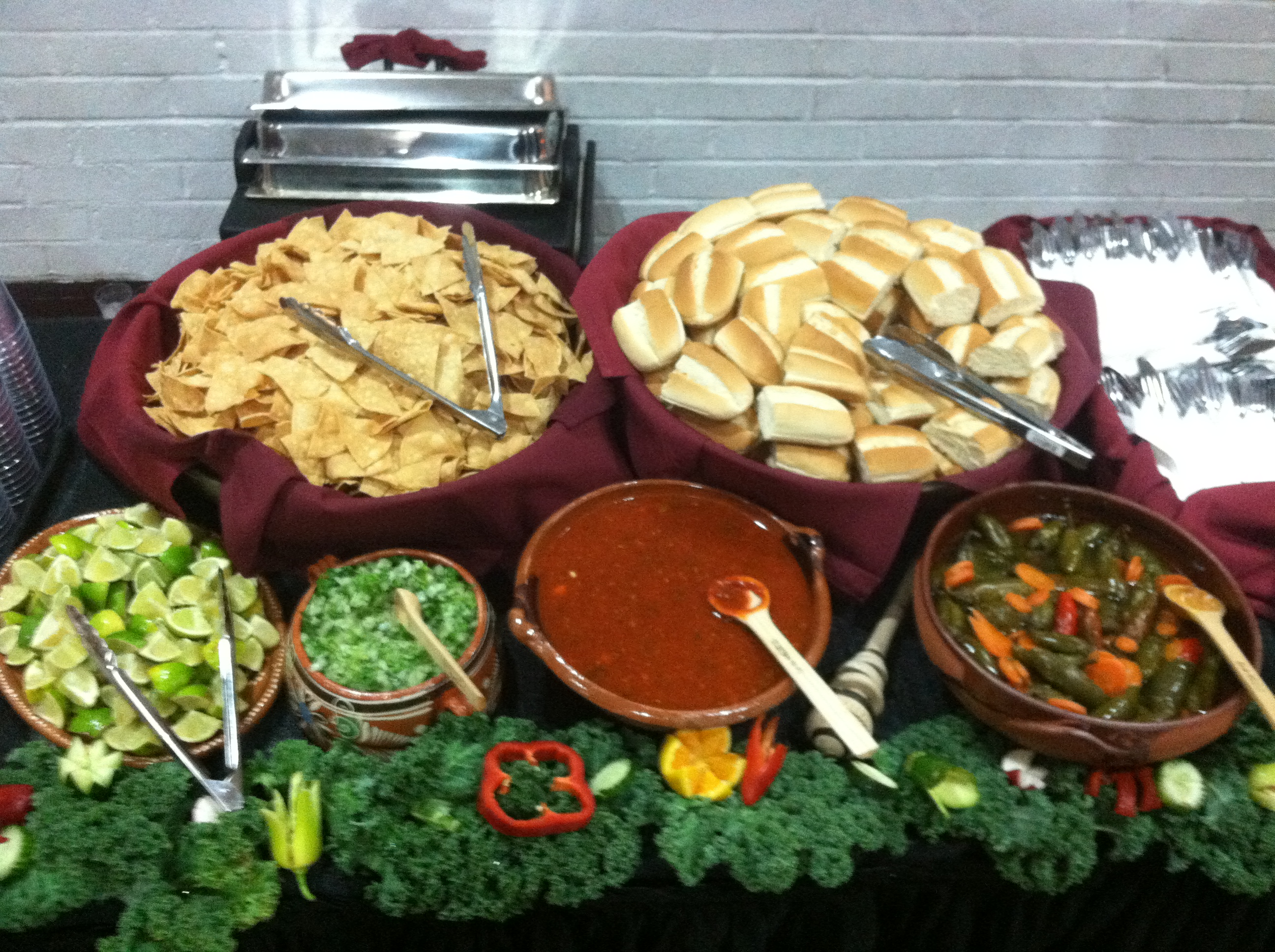 Mexican Theme Buffet