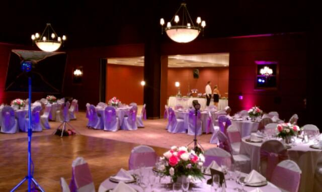 Lilac Table Setting