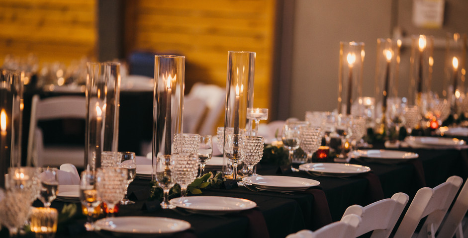 Wedding Head Table Setting
