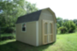 Here is an 8x10 barn with a 6' sidewall and a window.
