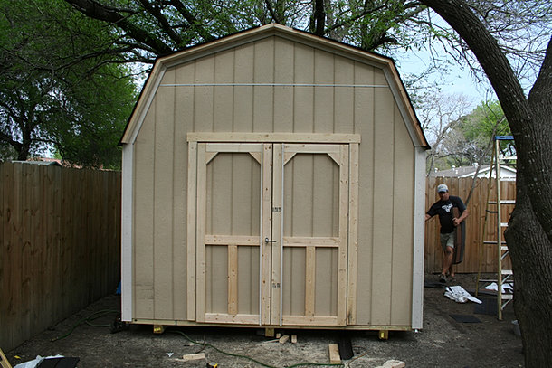 Backyard Barns Wood Storage Sheds San Antonio Texas
