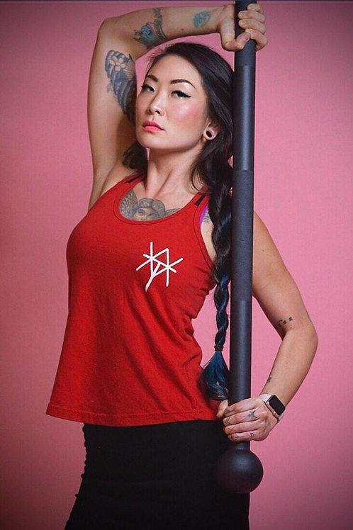 VTA bind rune womens Racerback vest