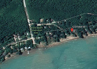 Located on Georgian Bay just West of Thornbury