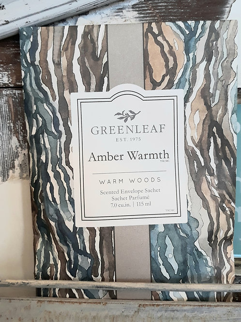 Greenleaf Large Sachet Amber Warmth