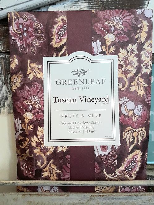 Greenleaf Large Sachet Tuscan Vineyard