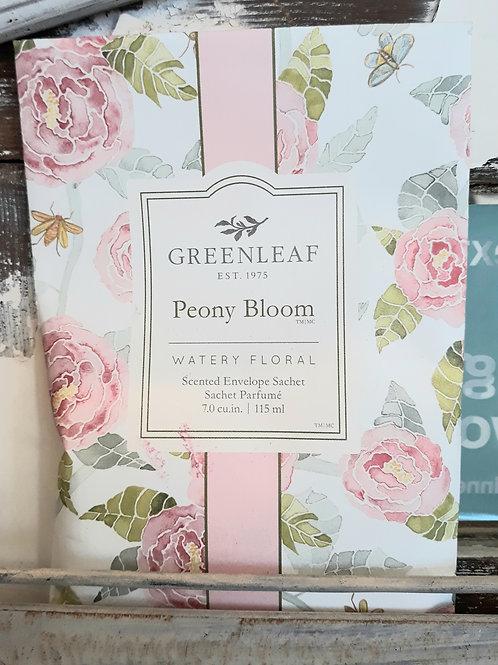 Greenleaf Large Sachet Peony Bloom