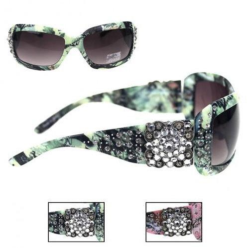 Montana West Green Camo Sunglasses Green