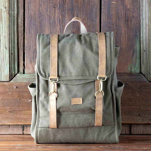 Canvas Medium Backpack