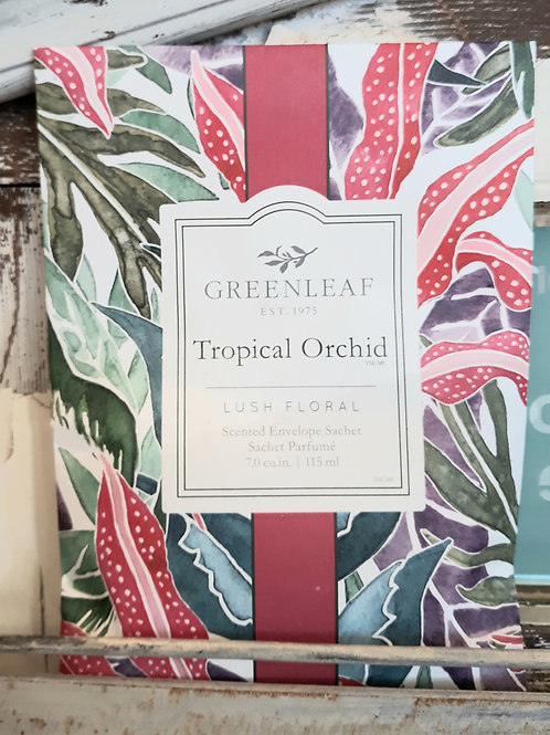 Greenleaf Large Sachet Tropical Orchid