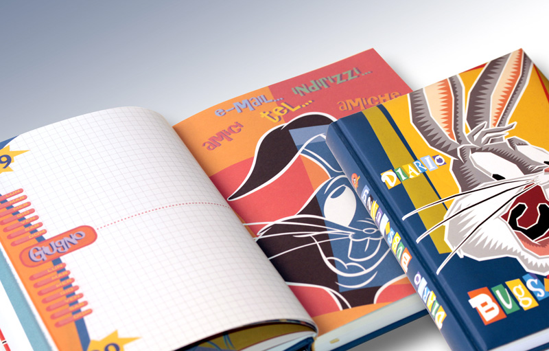 Bugs Bunny - diario scolastico