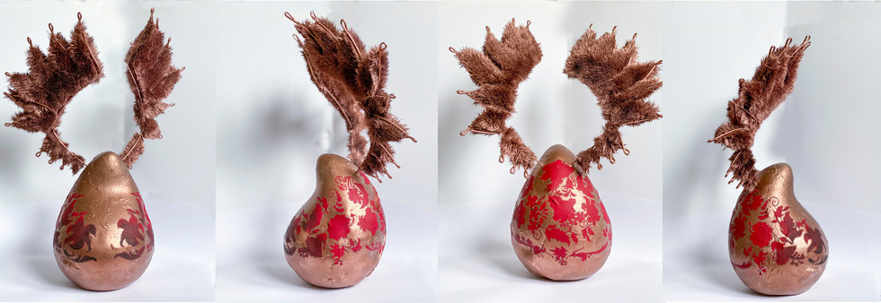 Pink Dragon, collaboration with AV Art