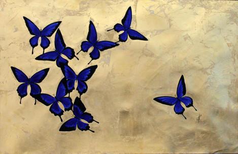 Blue Butterflies #2