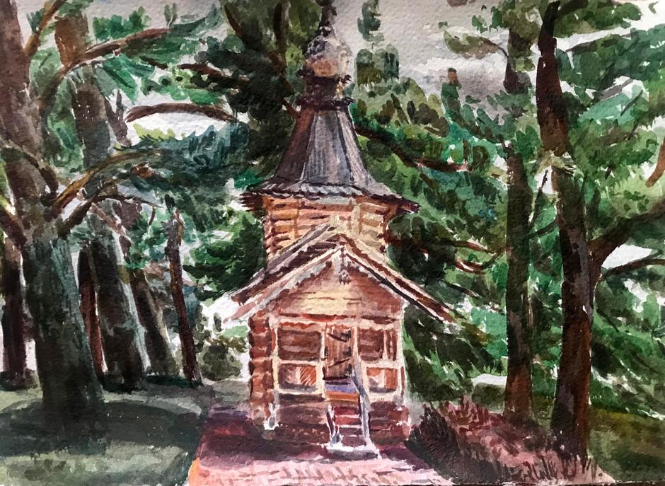 Chapel near Yantarny