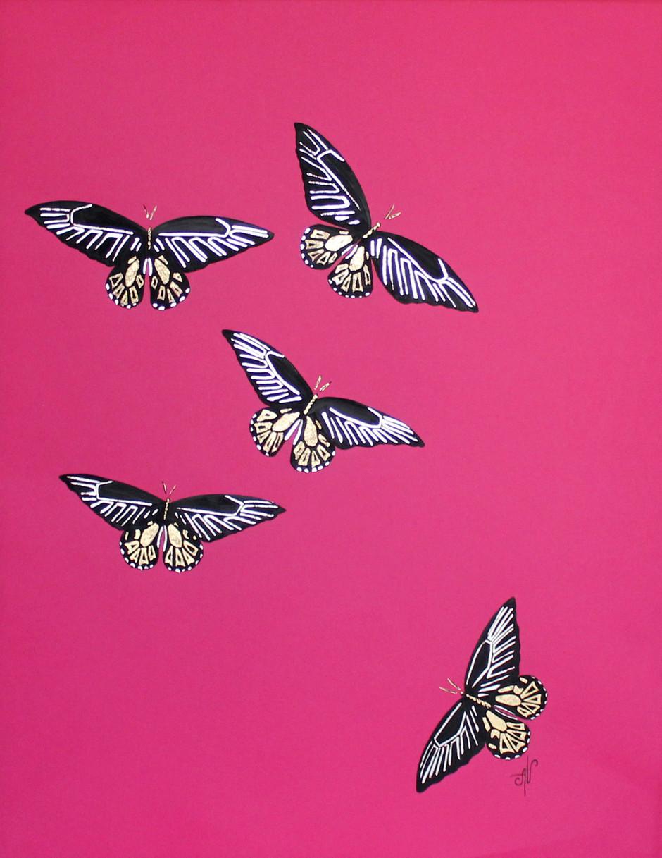 Butterflies series: #8