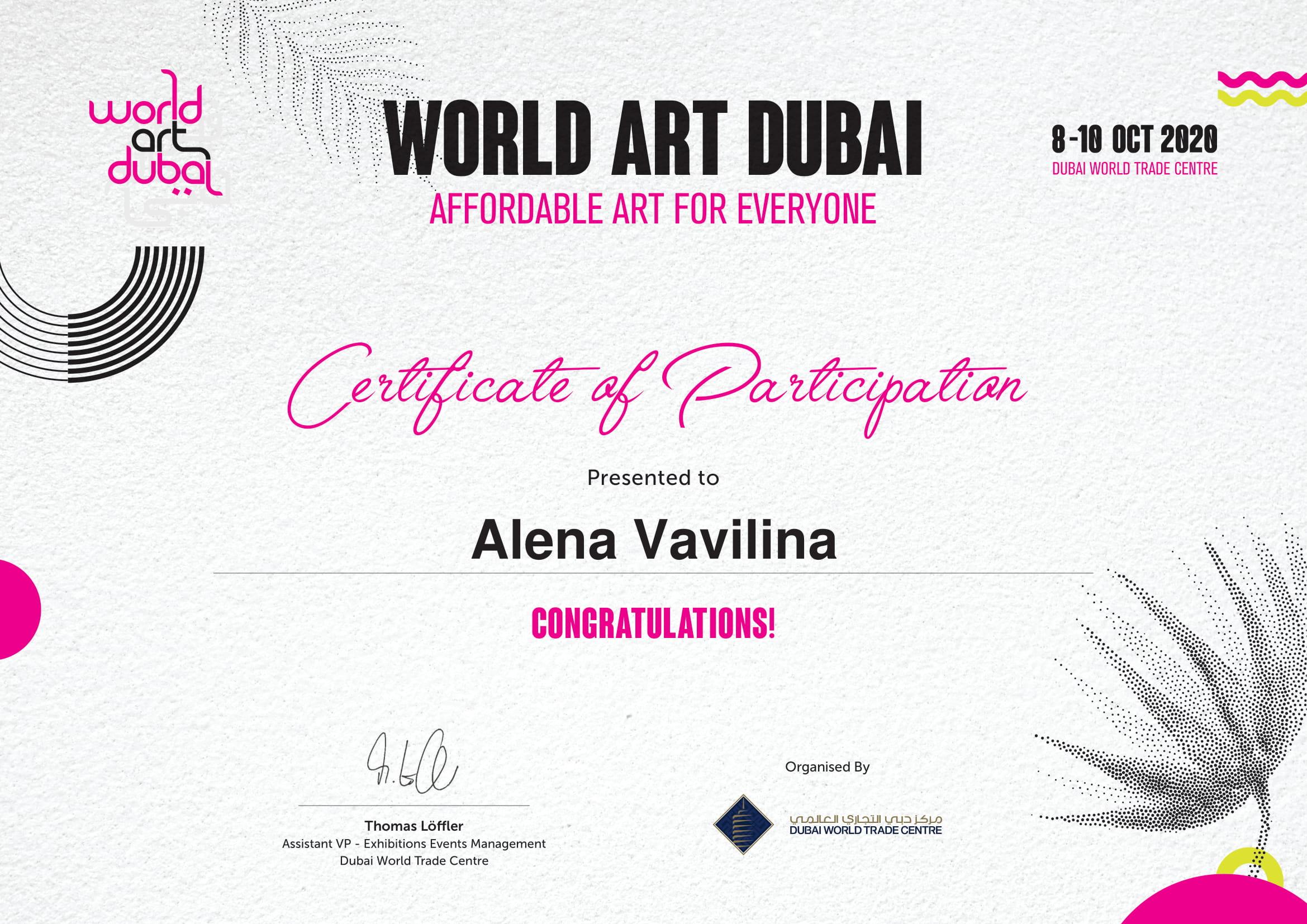 WAD 2020 Certificate - Alena Vavilina-1.