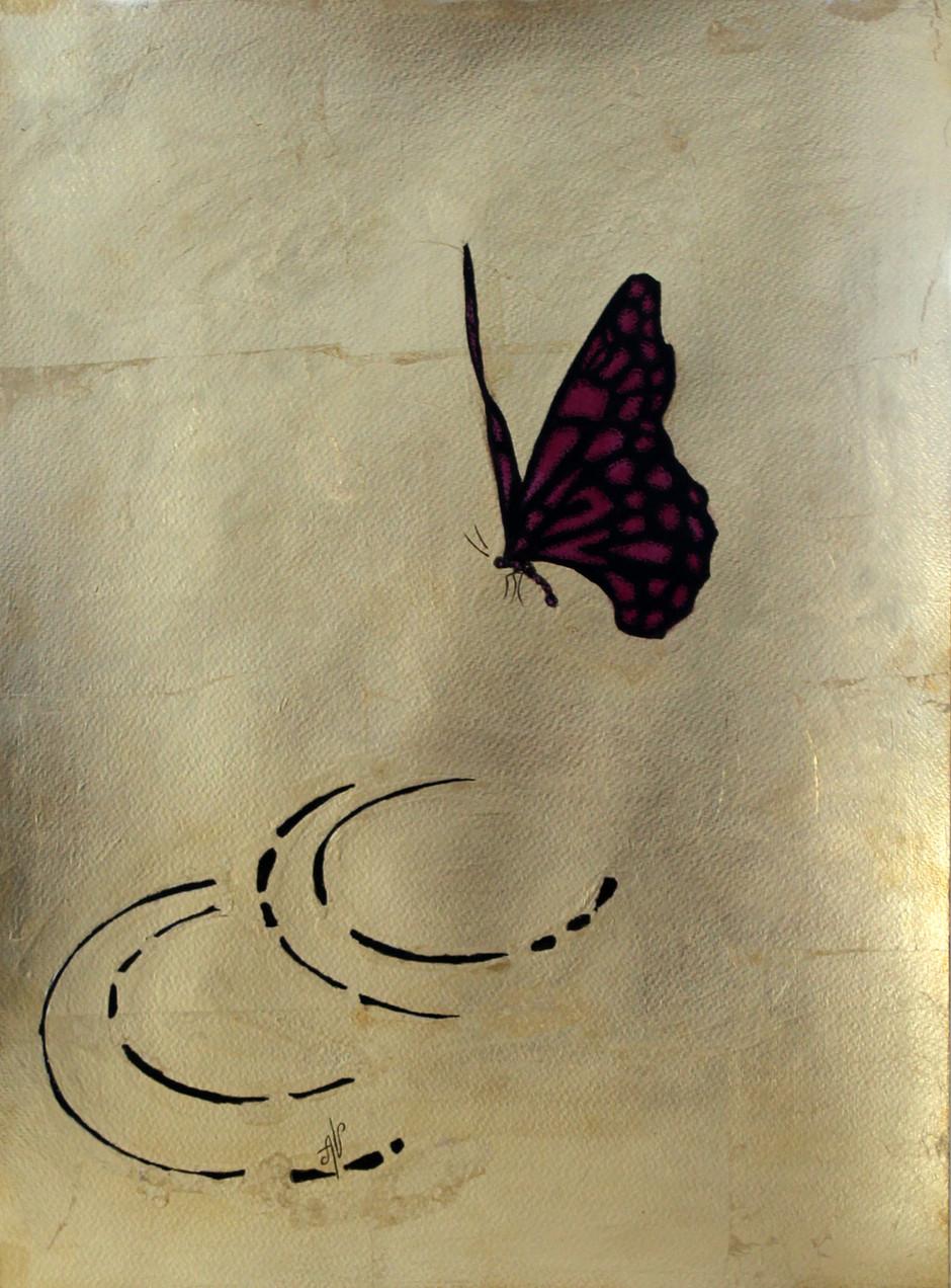 Butterflies series: #16