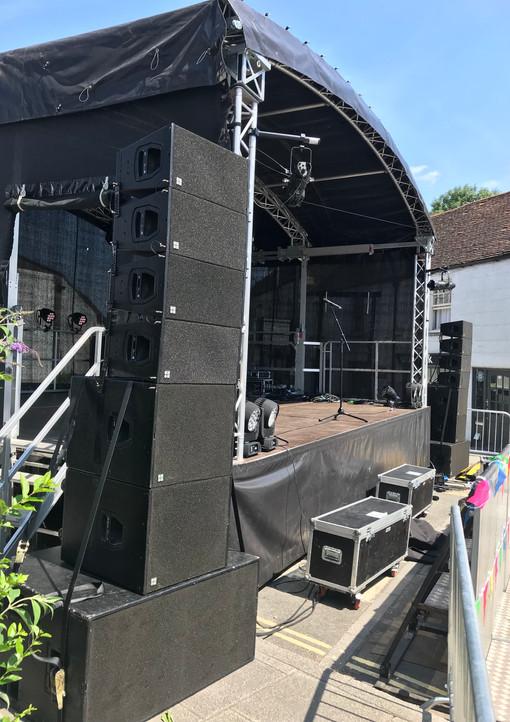 d&b Q1 - Westbury Summer Festival