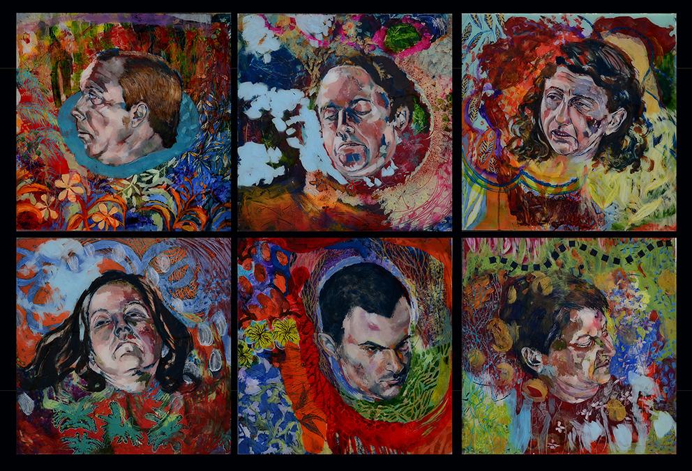 6 cabeças de mártires