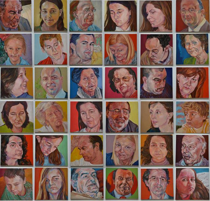 36 portraits