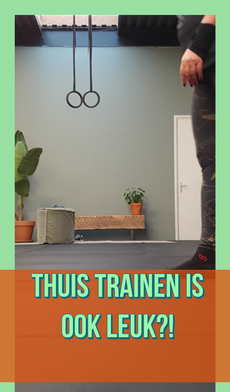 Een personal trainer thuis of via video training!