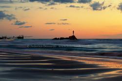 Trabocchi e la statua della bagnante-Vasto marina