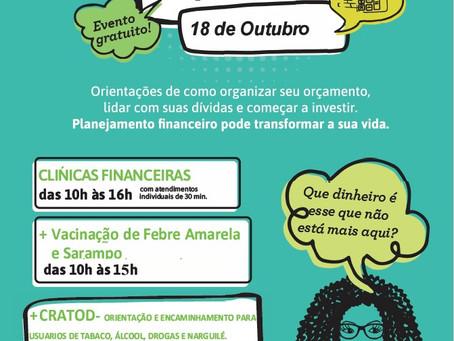 Sicoob Santa vai realizar a sua 4º Clinica Financeira gratuita para a população no Capão Redondo.