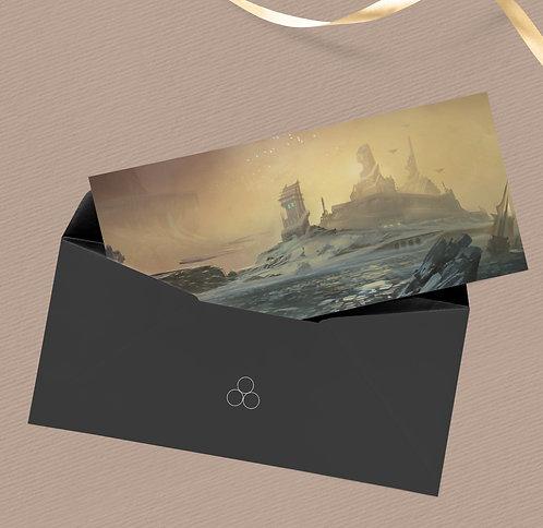 """Postcard """"Neige de Krysal"""""""
