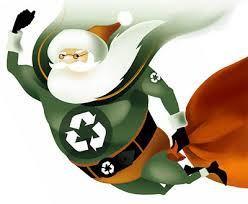 Green Santa. Green Jesus.